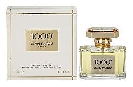 Parfumuri și produse cosmetice Jean Patou 1000 - Apă de toaletă