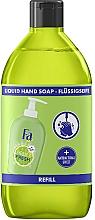 """Parfumuri și produse cosmetice Săpun lichid """"Puritate și Prospețime. Lime și Ghimbir"""" - Fa Hygiene & Freshness Ginger And Lime Liquid Soap (rezervă)"""