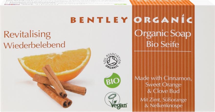 "Săpun ""Revigorant"" - Bentley Organic Body Care Revitalising Soap Bar — Imagine N1"
