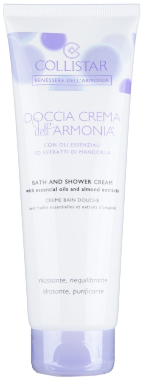 Cremă pentru duș - Collistar Benessere Dell'armonia Bath & Shower Cream  — Imagine N1