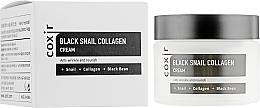 Parfumuri și produse cosmetice Cremă anti-îmbătrânire hidratantă pentru față - Coxir Black Snail Collagen Cream Anti-Wrinkle And Nourish