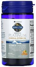 Parfumuri și produse cosmetice Formula Omega-3 și Vitamina D3, capsule cu aromă de portocale - Garden of Life Minami Platinum