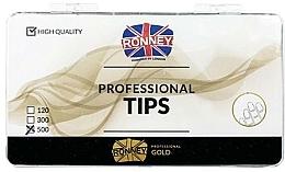 Parfumuri și produse cosmetice Tipsuri transparente - Ronney Professional Tips