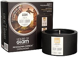 Parfumuri și produse cosmetice Lumânare aromată - House of Glam Lost In Great Library Candle
