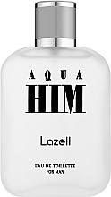 Parfumuri și produse cosmetice Lazell Aqua Him - Apă de toaletă