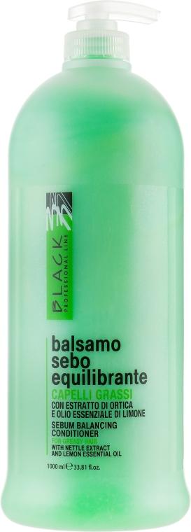 Balsam pentru păr gras - Black Professional Line Sebum-Balancing Conditioner
