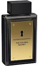 Antonio Banderas The Golden Secret - Apă de toaletă (tester cu capac) — Imagine N1