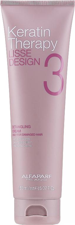 Crema de păr - Alfaparf Lisse Design Keratin Therapy Detangling Cream for Women