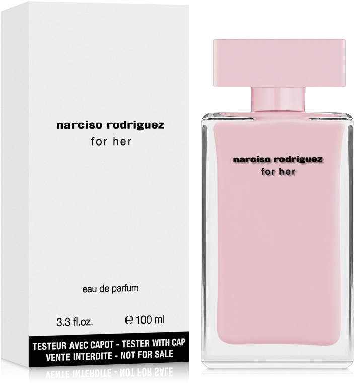 Narciso Rodriguez For Her - Apă de parfum (tester cu capac) — Imagine N2