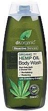 """Parfumuri și produse cosmetice Gel de duș """"Ulei de cânepă"""" - Dr. Organic Bioactive Skincare Hemp Oil Body Wash"""