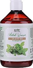 Parfumuri și produse cosmetice Șampon pentru păr deteriorat - Eco U Herebal Vinegar Shampoo