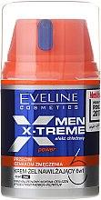 Parfumuri și produse cosmetice Gel-cremă pentru faţă - Eveline Cosmetics Men X-Treme Power Cream-Gel 6In1