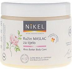 Parfumuri și produse cosmetice Ulei de corp, cu extract de trandafir - Nikel Rose Butter