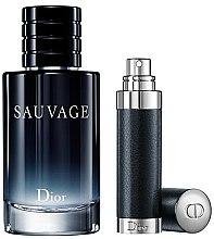 Parfumuri și produse cosmetice Dior Sauvage - Set (edt 100ml + edt/refil 7.5ml)
