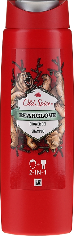 Șampon-gel pentru duș 2in1 - Old Spice Bearglove Shower Gel + Shampoo