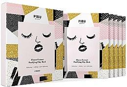 Set - Pibu Beauty Flower Extract Purifying Clay Mask Set (f/mask/5x18g) — Imagine N1