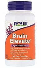 Parfumuri și produse cosmetice Vitamine pentru memorie - Now Foods Brain Elevate