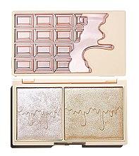 Parfumuri și produse cosmetice Paletă iluminatoare - I Heart Revolution Chocolate Rose Gold Glow