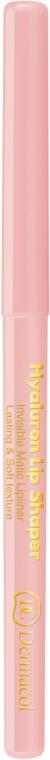 Creion contur de buze transparent - Dermacol Hyaluron Lip Shaper