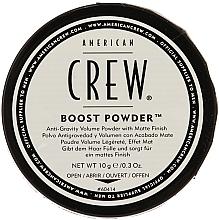 Parfumuri și produse cosmetice Pulbere anti-gravitație pentru volum, cu efect mat - American Crew Boost Powder