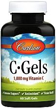 Parfumuri și produse cosmetice Vitamina C, 1000 mg - Carlson Labs C-Gels Vitamin C