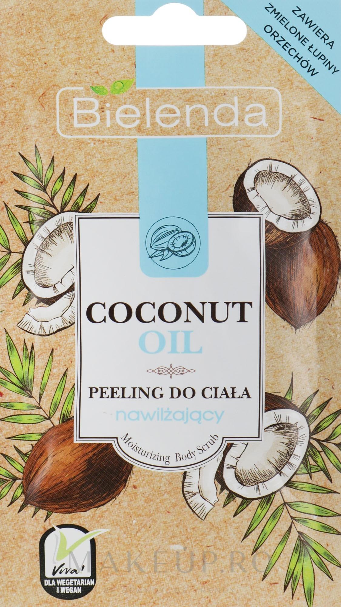 Peeling cu ulei de cocos pentru corp - Bielenda Coconut Oil Moisturizing Peeling — Imagine 30 g