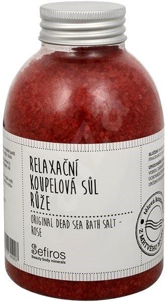 Sare de baie - Sefiros Original Dead Sea Bath Salt Rose — Imagine N1