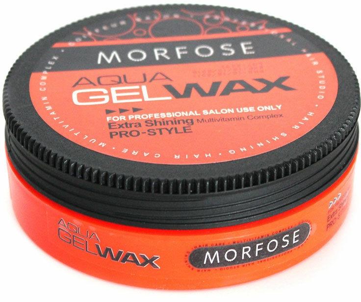 Ceară-gel pentru păr - Morfose Aqua Gel Wax Extra Shining — Imagine N1