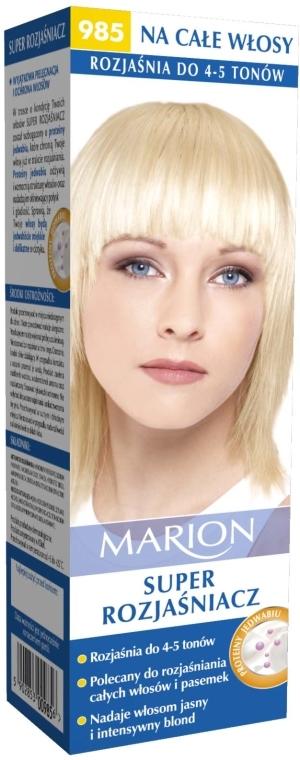 Decolorant pentru păr №985 - Marion Super Brightener