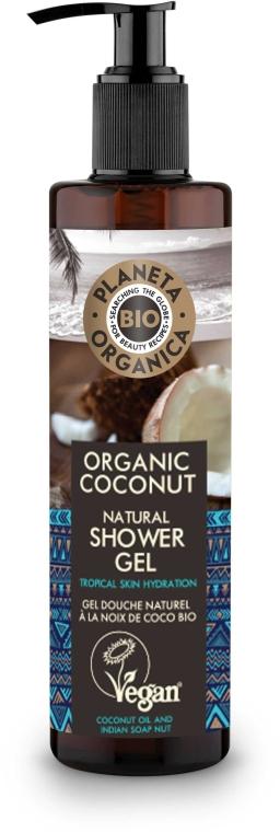 Gel de duș - Planeta Organica Organic Coconut Natural Shower Gel