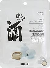 Parfumuri și produse cosmetice Mască din țesătură cu Sake pentru față - Mitomo Sake Essence Mask