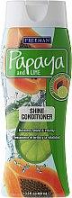 Parfumuri și produse cosmetice Balsam de păr pentru strălucire - Freeman Papaya and Lime Shine Conditioner