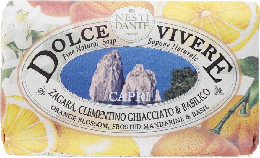 """Săpun """"Capri"""" - Nesti Dante Dolce Vivere Soap — Imagine N1"""