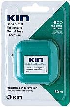 Parfumuri și produse cosmetice Ață dentară - Kin Dental Floss With Wax Minty