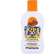 Parfumuri și produse cosmetice Loțiune cu protecție solară pentru copii - Malibu Sun Kids Lotion SPF30