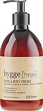Parfumuri și produse cosmetice Cremă pentru corp - Gosh Hygge Hand and Body Cream