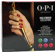 Parfumuri și produse cosmetice Set - O.P.I Gel Color Hollywood Spring 2021 Add-On Kit #2