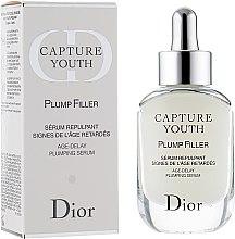 Ser cu efect anti-îmbătrânire - Dior Capture Youth Plump Filler Age-Delay Plumping Serum — Imagine N1