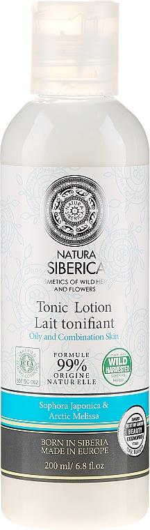 """Loțiune tonifiantă pentru curățarea feței """"Hidratare și echilibru"""" - Natura Siberica Tonic Lotion — Imagine N1"""