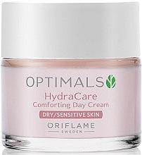 Cremă de zi hidratantă pentru pielea uscată și sensibilă - Oriflame Optimals Hydra Care — Imagine N1