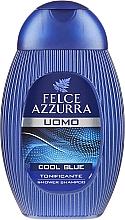 "Parfumuri și produse cosmetice Șampon-gel de duș ""Cool Blue"" - Paglieri Felce Azzurra Shampoo And Shower Gel For Man"