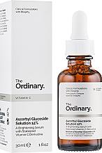 Parfumuri și produse cosmetice Ser radiant pe baza derivatului stabilizat de vitamina C - The Ordinary Ascorbyl Glucoside Solution 12%