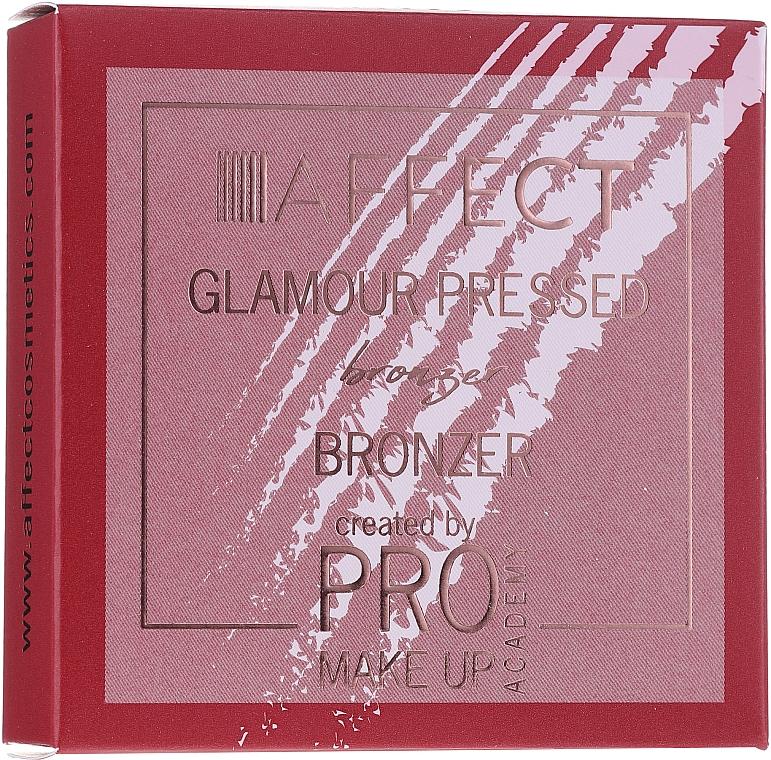 Bronzer pentru față - Affect Cosmetics Pro Make Up Academy Glamour Bronzer Prasowany — Imagine N2