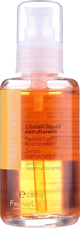 Fluid pentru păr uscat - Fanola Nutry Care Restructuring Fluid