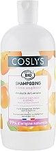 Șampon pentru păr uscat și deteriorat, cu ulei de mirabella - Coslys Shampoo for dry and damaged hair with oil Mirabella — Imagine N3