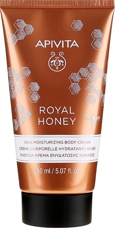 Cremă hidratantă pentru corp - Apivita Royal Honey Rich Moisturizing Body Cream — Imagine N1