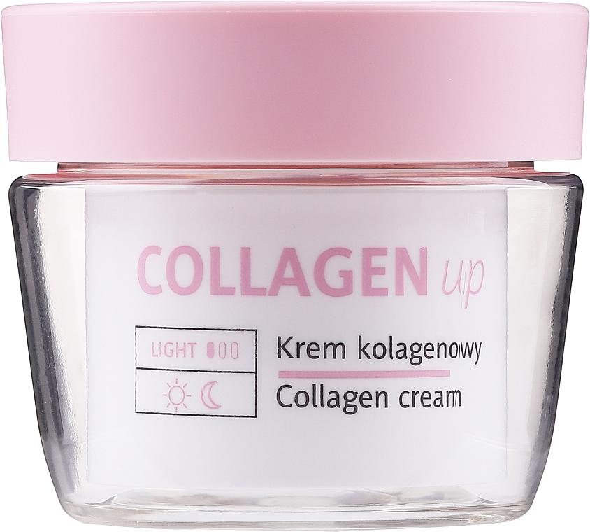 Cremă de față cu colagen 50+ - Floslek Collagen Up Collagen Cream