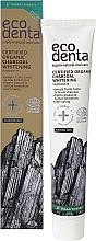 Parfumuri și produse cosmetice Pastă organică neagră pentru albirea dinților - Ecodenta Certified Cosmos Organic Black Whitening Toothpaste