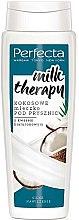 Parfumuri și produse cosmetice Lapte de duș cu cocos și acid hialuronic - Perfecta Coconut Shower Milk