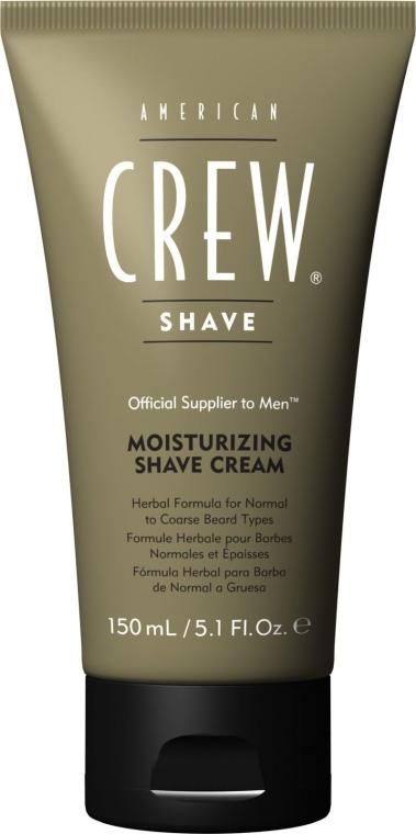 Cremă hidratantă pentru bărbierit - American Crew Moisturing Shave Cream — Imagine N1